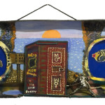 """Outhouse"" 10"" x 39"" 2010"